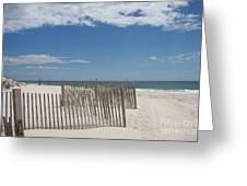 Long Island Beach Greeting Card
