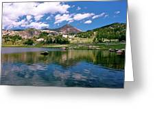 Long Lake Beartooth Pass Greeting Card