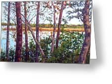 Long Lake Greeting Card