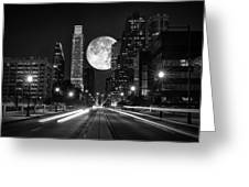 Long Nights Moon Greeting Card