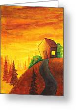 Long Way To Home Greeting Card