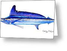 Longbill Spearfish Greeting Card