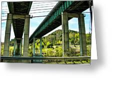 Longest Bridges In Vermont Greeting Card