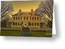 Longfellow House-cambridge Boston Greeting Card