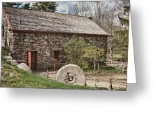 Longfellow's Wayside Inn Grist Mill Greeting Card