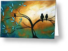 Longing By Madart Greeting Card
