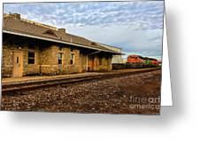 Longmont Depot Greeting Card