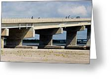 Longport Bridge Greeting Card