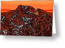 Longs Peak - Colorado Greeting Card