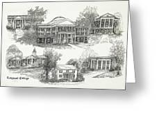 Longwood College Greeting Card