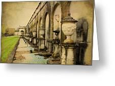 Longwood Gardens Fountains Greeting Card