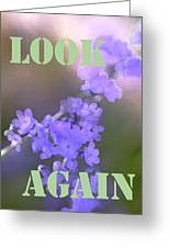 Look Again Greeting Card
