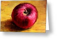 Look An Apple Greeting Card