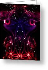Look Into My Eyes Greeting Card by Nathan Wright