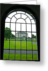 Looking At Portumna Castle Greeting Card