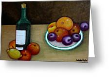 Looking For Cezanne Greeting Card