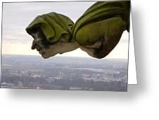 Looking Over Ulm Greeting Card
