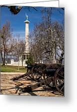 Lookout Mountain Peace Monument 2 Greeting Card