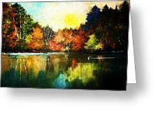 Autumn In Loon Country Ll Greeting Card