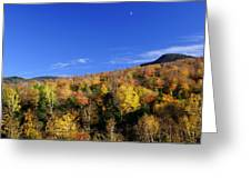 Loon Mountain Foliage Greeting Card