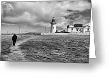 Loophead Lighthouse II Greeting Card