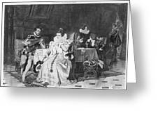 Lord Darnley/mary Stuart Greeting Card