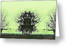 Lord Of The Trees Greeting Card