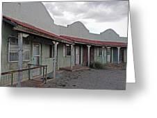 Lordsburg Nm Hotel 1 Greeting Card