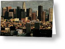 Los Angeles Classic Greeting Card