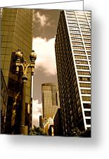 Los Angeles Downtown Greeting Card