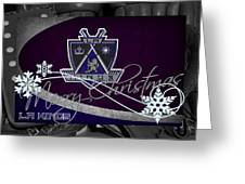 Los Angeles Kings Christmas Greeting Card