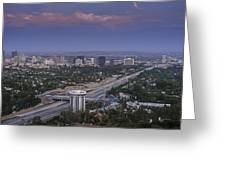 Los Angeles Greeting Card by Pro Shutterblade