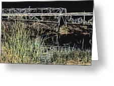 Los Angeles River / Crayola Effect Greeting Card