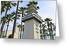 Los Angeles Union Station. Greeting Card