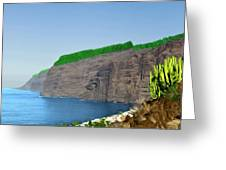 Los Gigantes Tenerife Spain Greeting Card
