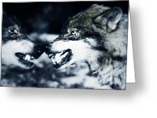 Los Lobos Greeting Card