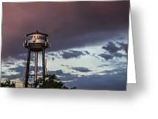 Los Lunas Water Tower Greeting Card
