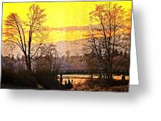 Lost Along The River Greeting Card