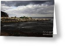 Lost Boats Greeting Card