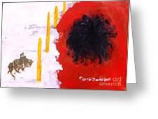 Lost Civilization Greeting Card by Mounir Mounir