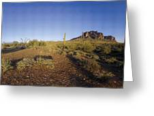 Lost Dutchman Park Supestition Mountains Greeting Card