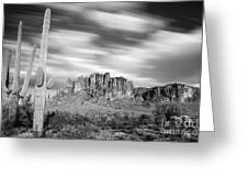 Lost Dutchman State Park - Arizona Greeting Card