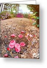 Lost Flowers Greeting Card