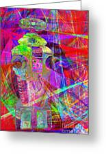 Lost In Abstract Space 20130611 Greeting Card