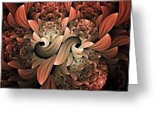Lost In Dreams Abstract Greeting Card