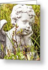 Lost In Thought Greeting Card