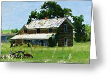 Lost In Wyoming II Greeting Card