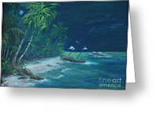 Lost Island Greeting Card