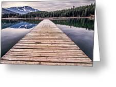 Lost Lake Dock Greeting Card