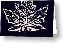 Lost Leaves Greeting Card